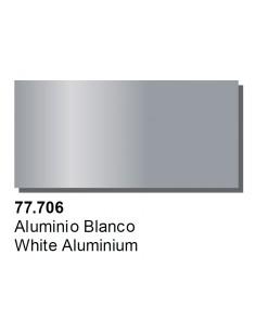 Vallejo 77706 Metal Color - White Aluminium 32ml