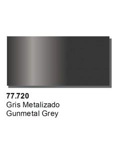 Vallejo 77720 Metal Color - Gunmetal Grey 32ml