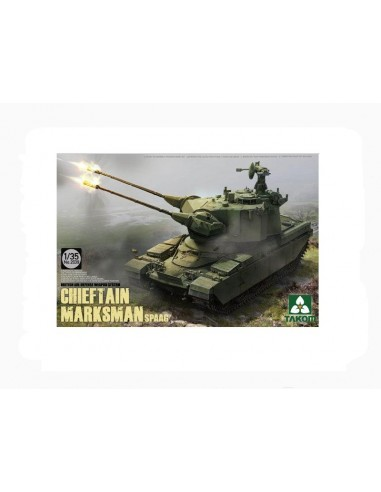 Takom 2039 British Air-defense Weapon System Chieftain Marksman SPAAG