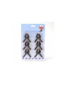 Artesania Latina 27200 Set Of 6 x 60 mm Spring Clamp