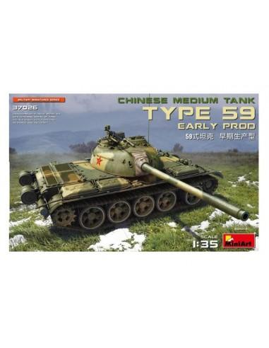 MiniArt 37026 Chinese Medium Tank Type 59 - Early Production