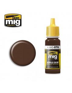 A.MIG-0070 Medium Brown Dark Earth (BS450) 17ml
