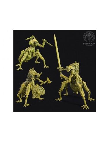 Bestiarum Miniatures Necro Warriors
