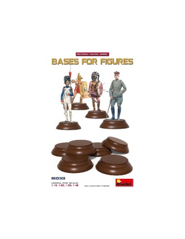 MiniArt 16039 Bases For Figures...