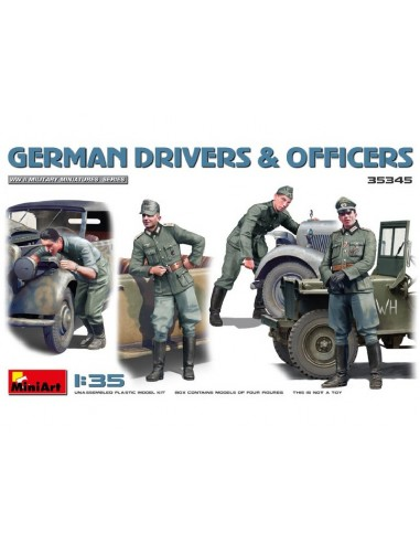 MiniArt 35345 German Drivers And...