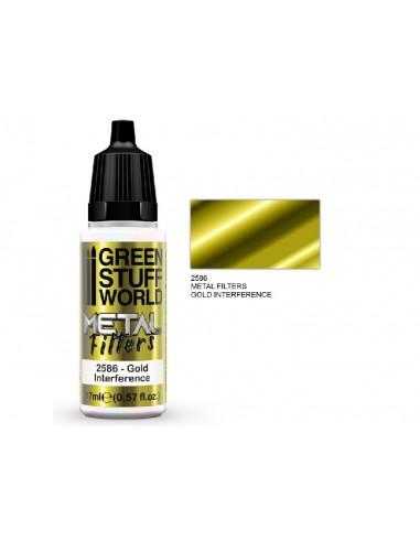 Green Stuff 2586 Metal Filters Gold...