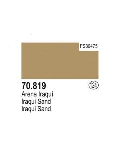 Vallejo (124) 70819 MODEL COLOR Iraqui Sand 17ml