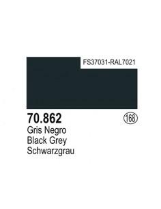 Vallejo (168) 70862 MODEL COLOR Black Grey 17ml