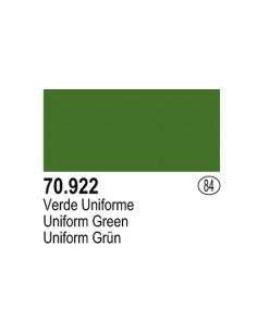 Vallejo (084) 70922 MODEL COLOR Uniform Green 17ml