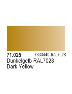 Vallejo 71025 MODEL AIR Dark Yellow 17ml