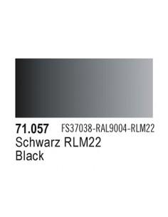 Vallejo 71057 MODEL AIR Black 17ml