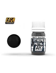AK Interactive 471 Xtreme Metal - Black Base 30 ml.